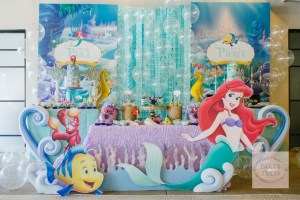 Paige and Pierce's the Little Mermaid Party – 2nd Birthday and Baptismal