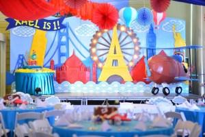Xael's World Traveler Themed Party – 1st Birthday