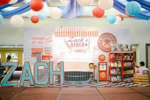 Zachary's 50's Diner Themed Party – 1st Birthday