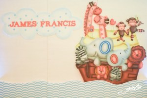 James Francis' Noah and the Ark Themed Party – 1st Birthday
