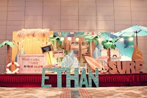 Ethan's Surf Shack Themed Party – 1st Birthday