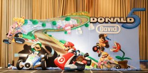 Donald and David's Mario Kart 8 Themed Party – 5th Birthday and Baptismal