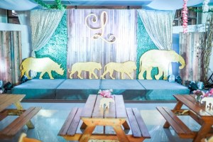 Lyla's Pink and Gold Jungle Safari Themed Party – 7th Birthday