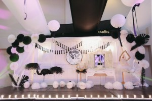 Madison and Mischka's Black Swan, White Swan Themed Party – Christening and 3rd Birthday