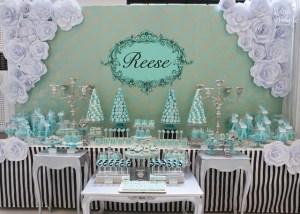 Reese's Breakfast at Tiffany's Themed Party – 7th Birthday
