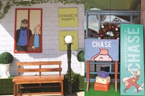 Chase's the Adventures of Tintin Themed Party – 1st Birthday