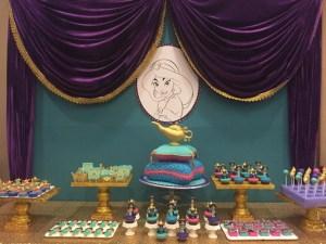 Genie's Princess Jasmine of Disney Aladdin Themed Party – 1st Birthday