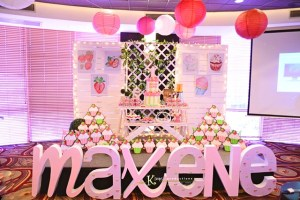 Maxene's Strawberry Cupcake Themed Party – 1st Birthday