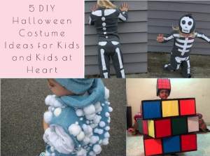 5 DIY Halloween Costume Ideas for Kids and Kids at Heart
