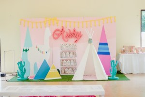 Avery's Boho Llama Themed Party – 1st Birthday