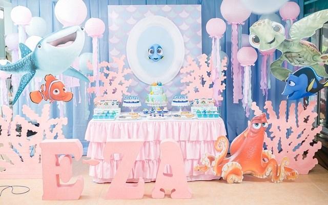 E-za's Finding Dory Themed Party – 1st Birthday