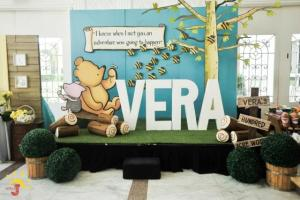 Vera's Winnie the Pooh Themed Party – 1st Birthday