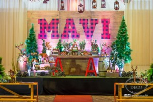 Mavi's Lumberjack Themed Party – 1st Birthday