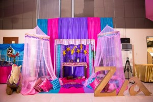 Zia's Arabian Nights Themed Party – 1st Birthday