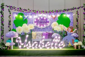 Ysabelle's Sofia the First Themed Party – 1st Birthday