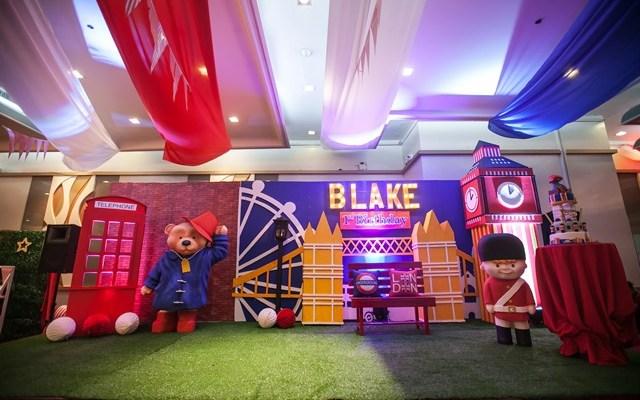 Blake's Paddington Bear in London Themed Party – 1st Birthday