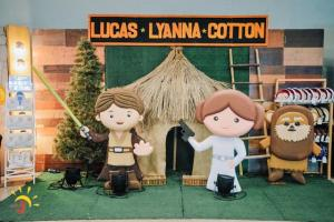 Lucas, Lyanna and Cotton's Star Wars Themed Party