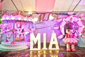 Mia's Dainty Carnival Themed Party -7th Birthday