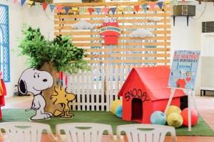 Eli's The Peanuts Themed Party – 1st Birthday