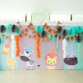 party animals theme party stage