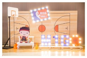 Migo's Baby NBA Themed Party – 1st Birthday