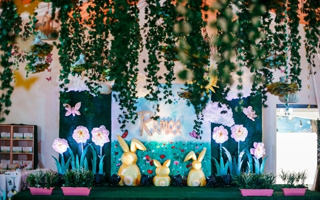 Renee's Bunny in a Meadow Themed Party – 1st Birthday