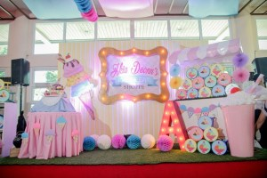 Akia's Ice Cream Shoppe Themed Party – 7th Birthday