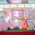 ice cream party stage