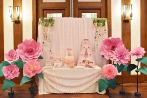 Alessia's Sweet Hippo Ballerina Themed Baptismal Celebration