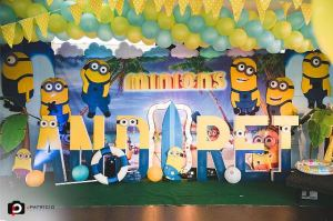 Andrei's Minions Pool Party – 1st Birthday