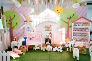Bea's Pink Barnyard Themed Party – 1st Birthday
