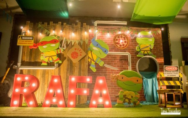 Rafa's Teenage Mutant Ninja Turtles Themed Party – 1st Birthday