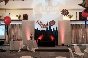 Alriq's Superheroes Themed Party – 1st Birthday