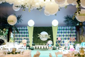 Seve's Golf Themed Party – 1st Birthday