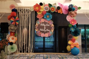 Riley and Felicity's Charming Fiesta Themed Baptismal Celebration