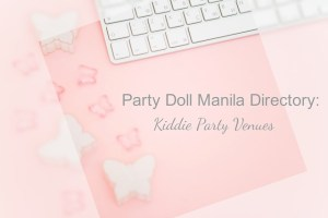 Party Doll Manila Directory: Venues