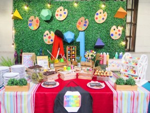 Appa's Art in the Park Themed Party -1st Birthday