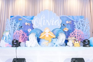 Olivia's Under the Sea Themed Party – 1st Birthday