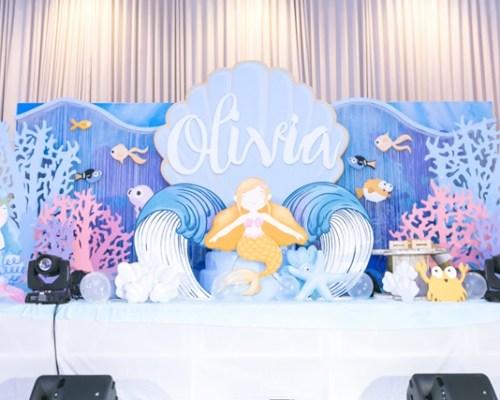 Olivia's Under the Sea Themed Party – 1st Birthday