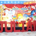 circus theme party stage