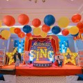 Sing Movie Theme Party Stage