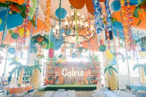 Calvin's Luau Themed Party – 1st Birthday