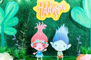 Adysson's Magical Trolls Themed Party – 7th Birthday