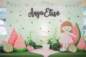 Anya's One in a Melon Picnic Themed Party – 1st Birthday