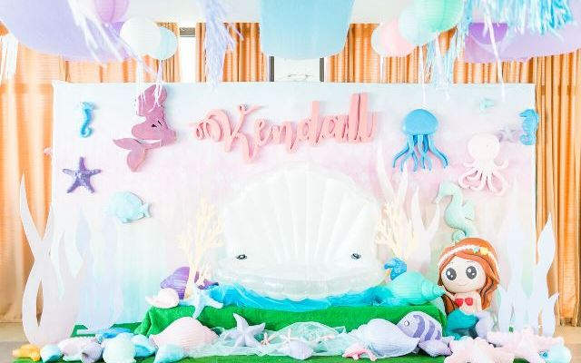 Kendall's Under the Sea Themed Party – 1st Birthday