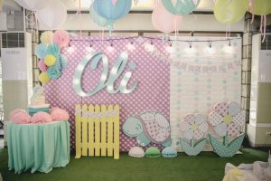 Oli's Shabby Chic Little Turtle Themed Party – 1st Birthday