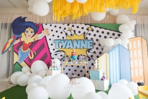 Tyanne's Wonder Woman Themed Party – 7th Birthday