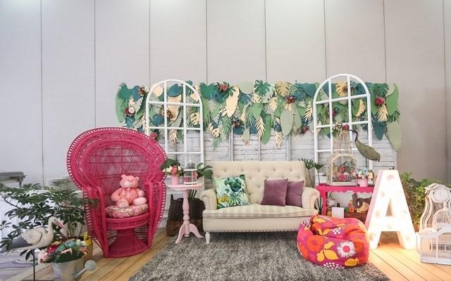 Amara's Tropical Glam Themed Party – Baptismal