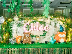 Chloe's Whimsical Woodland Themed Party – 1st Birthday