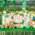 Woodland and friends theme party stage
